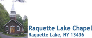 Raquette Lake Chapel