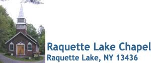 Raquette Lake Chapel